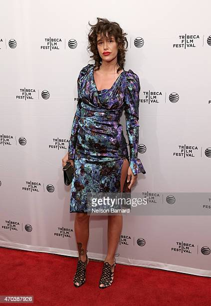 Actress Paz de la Huerta attends the premiere of 'Bare' during the 2015 Tribeca Film Festival at the SVA Theater on April 19 2015 in New York City