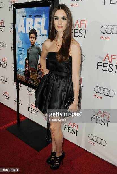 Actress Paz Vega arrives at Abel screening during AFI FEST 2010 presented by Audi at Grauman's Chinese Theatre on November 7 2010 in Hollywood...