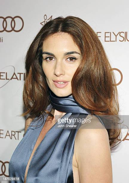 Actress Paz Vega arrives at Audi presents The Art of Elysium's 5th annual HEAVEN at Union Station on January 14, 2012 in Los Angeles, California.