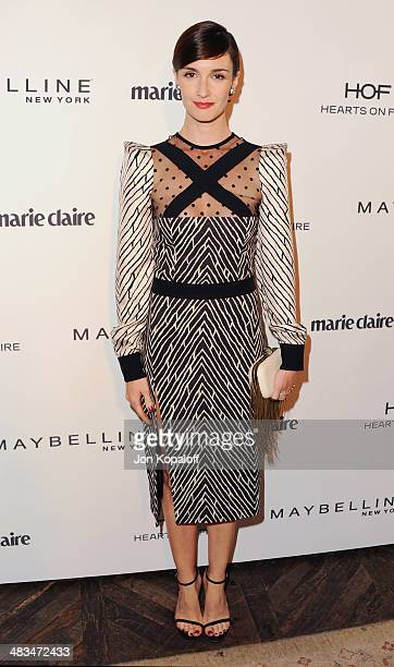 Actress Paz Vega arrives at Marie Claire's Fresh Faces Party at Soho House on April 8 2014 in West Hollywood California