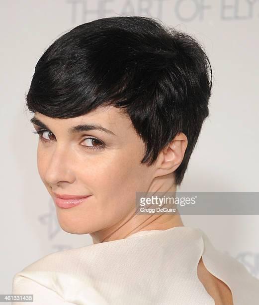 Actress Paz Vega arrives at The Art Of Elysium's 8th Annual Heaven Gala at Hangar 8 on January 10 2015 in Santa Monica California