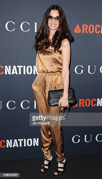 Actress Paz Vega arrives at the Gucci And RocNation Host PreGrammy Brunch At Soho House at Soho House on February 12 2011 in West Hollywood California