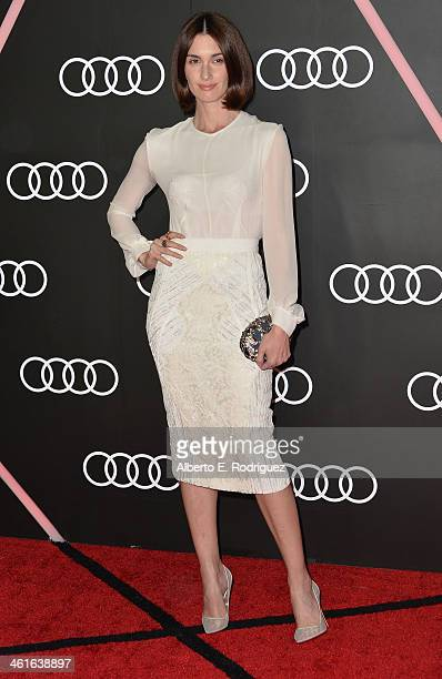 Actress Paz Vega arrives to Audi Celebrates Golden Globes Weekend at Cecconi's Restaurant on January 9 2014 in Los Angeles California