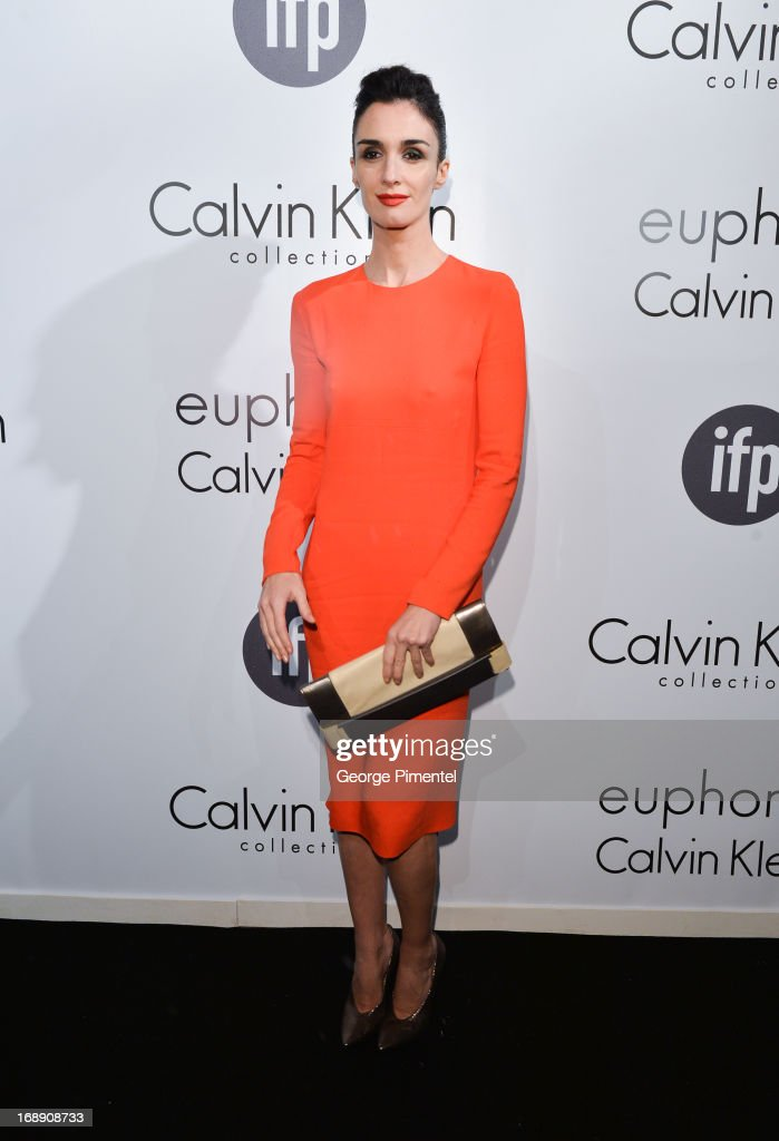 Actress Paz Vega attends a party hosted by Calvin Klein and IFP to celebrate women in film at The 66th Annual Cannes Film Festival>> at L'Ecrin Plage on May 16, 2013 in Cannes, France.