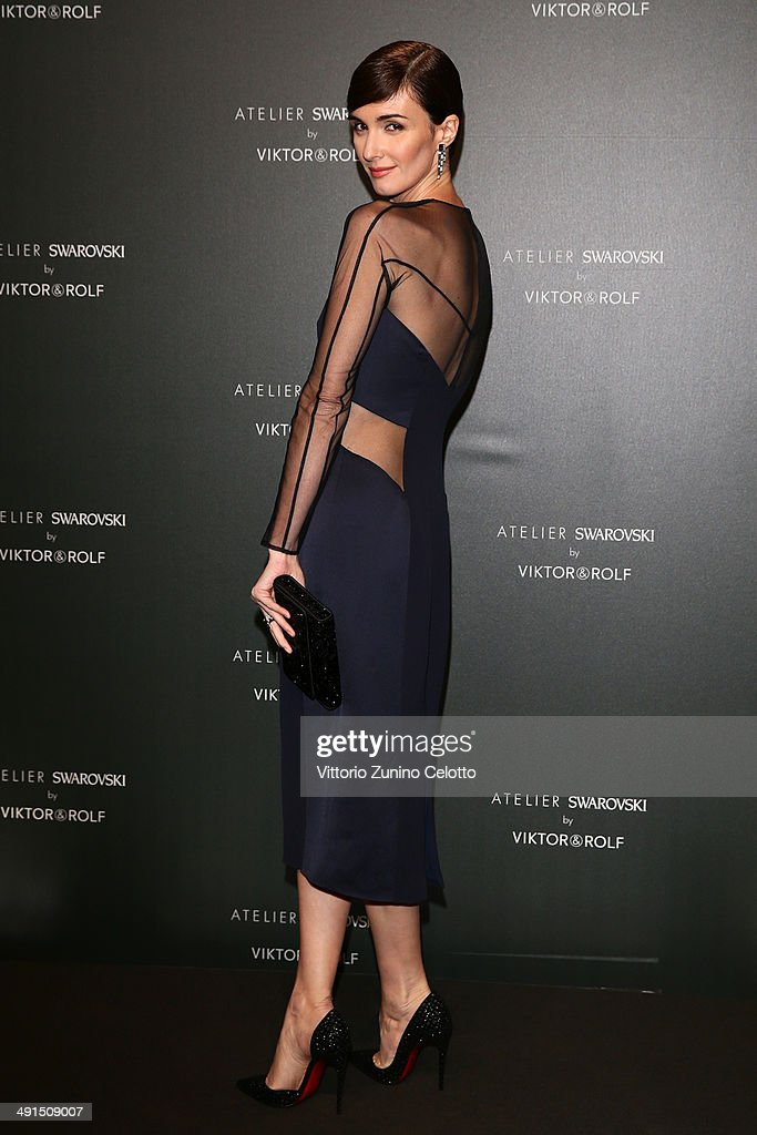 Actress Paz Vega attends a party hosted by Swarovski and Viktor & Rolf during the 67th Annual Cannes Film Festival on May 16, 2014 in Cannes, France.