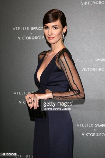 Actress Paz Vega attends a party hosted by Swarovski and Viktor Rolf during the 67th Annual Cannes Film Festival on May 16 2014 in Cannes France