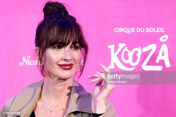 Actress Paz Vega attends Cirque Du Soleil 'Kooza' premiere on October 29, 2019 in Madrid, Spain.