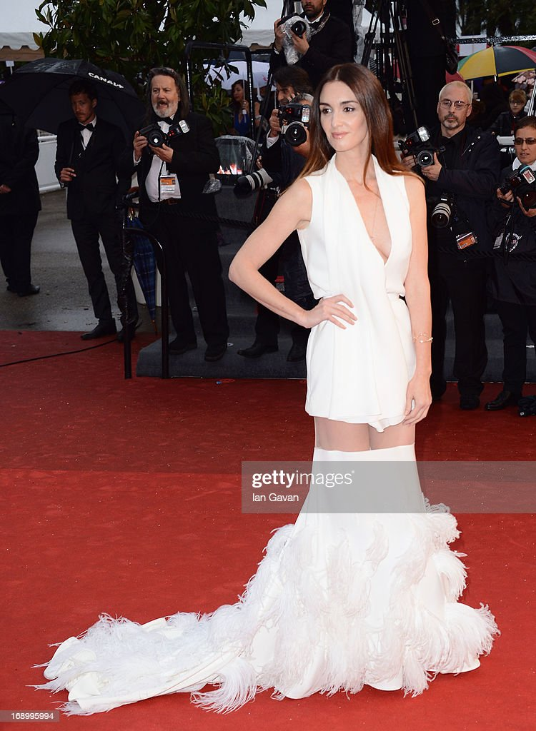 Actress Paz Vega attends 'Jimmy P. (Psychotherapy Of A Plains Indian)' Premiere during the 66th Annual Cannes Film Festival at Grand Theatre Lumiere on May 18, 2013 in Cannes, France.