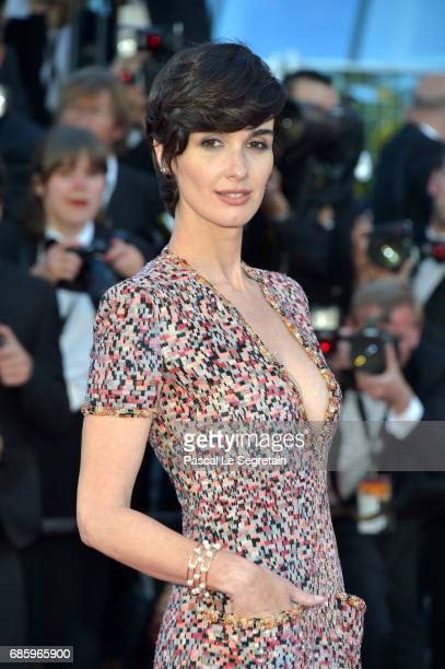 Actress Paz Vega attends the 120 Beats Per Minute premiere during the 70th annual Cannes Film Festival at Palais des Festivals on May 20 2017 in...