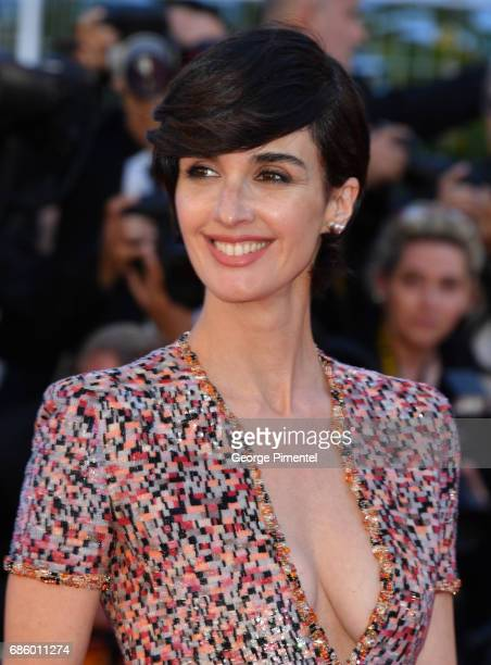 Actress Paz Vega attends the 120 Beats Per Minute screening during the 70th annual Cannes Film Festival at Palais des Festivals on May 20 2017 in...