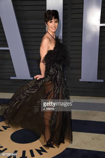 Actress Paz Vega attends the 2018 Vanity Fair Oscar Party hosted by Radhika Jones at the Wallis Annenberg Center for the Performing Arts on March 4...