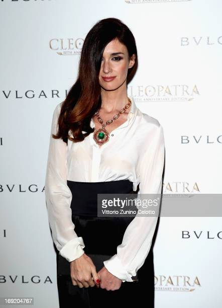 Actress Paz Vega attends the 'Cleopatra' cocktail hosted by Bulgari during The 66th Annual Cannes Film Festival at JW Marriott on May 21 2013 in...