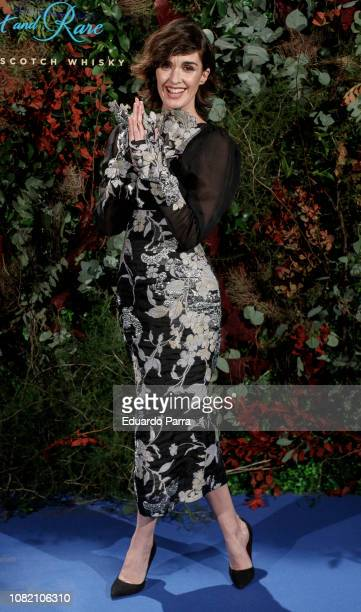 Actress Paz Vega attends the 'Johnnie Walker Blue Label GhostRare Port Ellen' photocall at Fernan Nunez palace on December 13 2018 in Madrid Spain