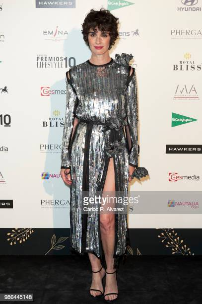 Actress Paz Vega attends the 'Lifestyle' Awards 2018 on June 28 2018 in Madrid Spain