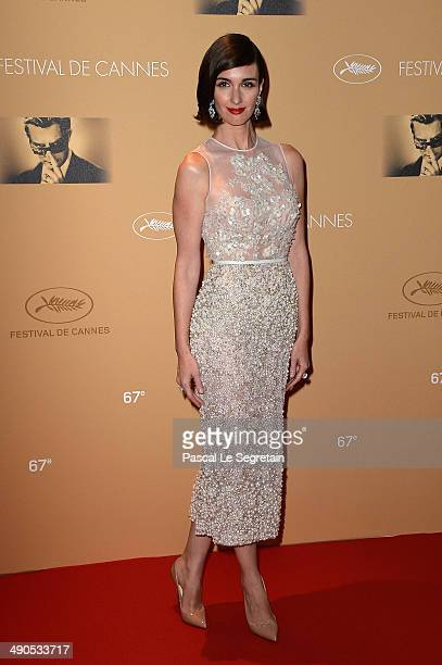 Actress Paz Vega attends the Opening Ceremony dinner during the 67th Annual Cannes Film Festival on May 14 2014 in Cannes France