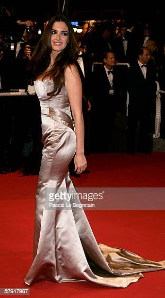 Actress Paz Vega attends the screening of Sin City at the Grand Theatre during the 58th International Cannes Film Festival May 18 2005 in Cannes...
