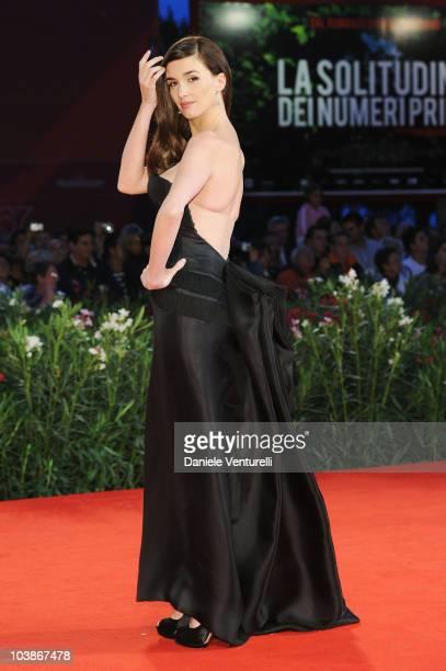 Actress Paz Vega attends the Vallanzasca Gli Angeli del Male premiere at the Palazzo del Cinema during the 67th Venice International Film Festival on...