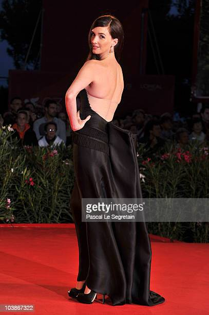 Actress Paz Vega attends the Vallanzasca premiere during the 67th Venice Film Festival at the Sala Grande Palazzo Del Cinema on September 6 2010 in...