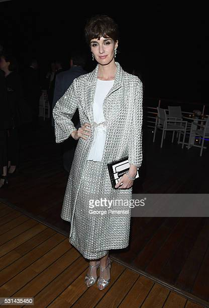 Actress Paz Vega attends Vanity Fair and Chopard AfterParty Celebrating the Cannes Film Festival at Hotel du CapEdenRoc on May 14 2016 in Cap...