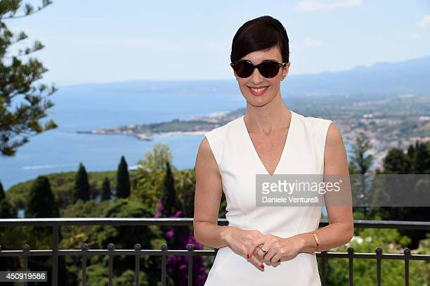 Actress Paz Vega poses for a portrait session during the 60th Taormina Film Fest at Hotel Timeo on June 20th on June 20 2014 in Taormina Italy