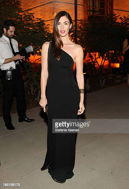 Actress Paz Vega wearing Ferragamo attends the Wallis Annenberg Center for the Performing Arts Inaugural Gala presented by Salvatore Ferragamo at the...