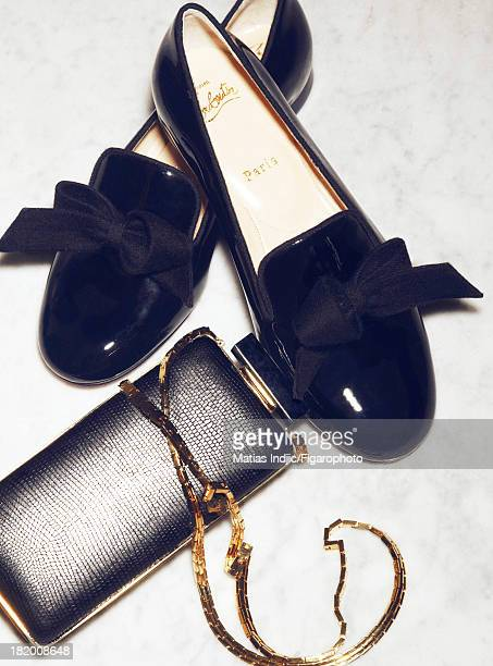 106860005 Actress Paz Vega's style inspirations are photographed for Madame Figaro on May 28 2013 in Cannes France Shoes minaudiere PUBLISHED IMAGE...