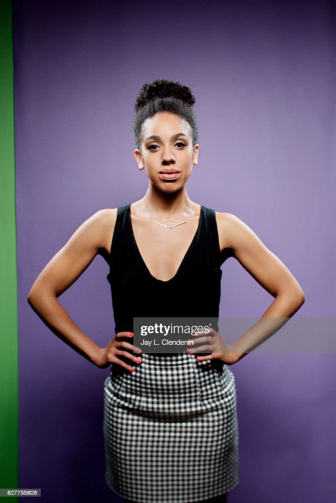 Actress Pearl Mackie, from the television series 'Doctor Who,' is photographed in the L.A. Times photo studio at Comic-Con 2017, in San Diego, CA on July 22, 2017.