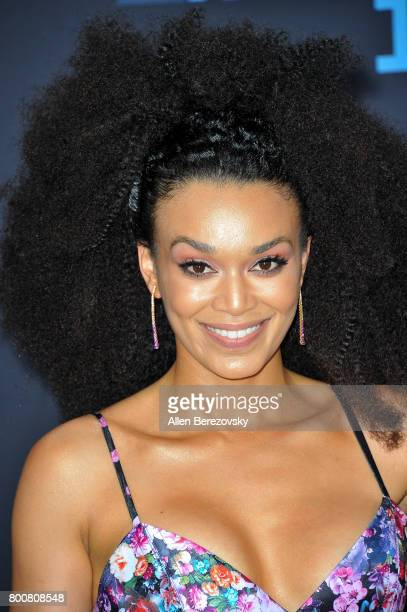 Actress Pearl Thusi arrives at the 2017 BET Awards at Microsoft Theater on June 25 2017 in Los Angeles California