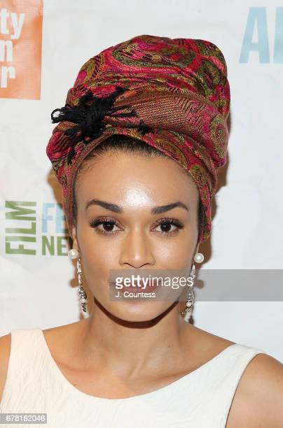 Actress Pearl Thusi attends the 24th New York African Film Opening Night at Walter Reade Theater on May 3, 2017 in New York City.
