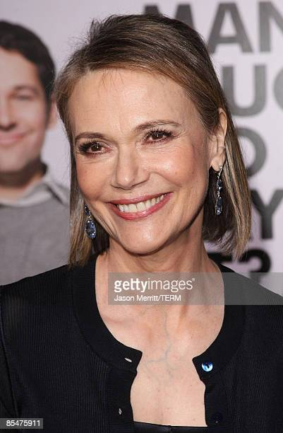 Actress Peggy Lipton arrives at the Dreamworks' premiere of 'I Love You Man' held at Mann's Village Theater on March 17 2009 in Westwood California