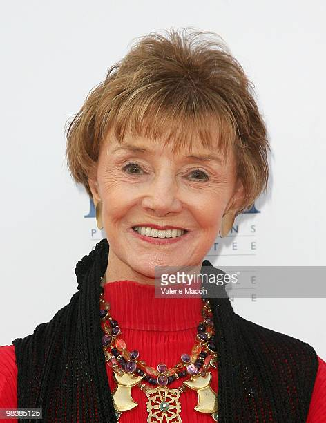 Actress Peggy McCay arrives at Nonprofit Physicians Committee For Responsible Medicine's 25th Anniversary on April 10 2010 in West Hollywood...