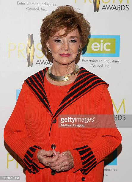 Actress Peggy McCay arrives at the 17th Annual PRISM Awards at the Beverly Hills Hotel on April 25 2013 in Beverly Hills California