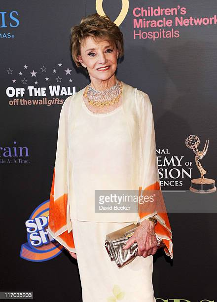 Actress Peggy McCay arrives at the 38th Annual Daytime Entertainment Emmy Awards held at the Las Vegas Hilton on June 19 2011 in Las Vegas Nevada
