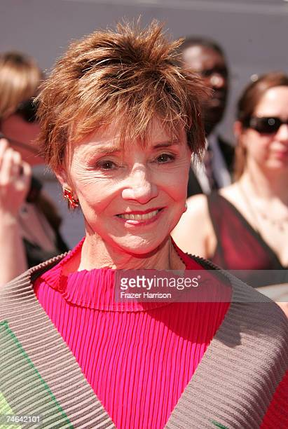 Actress Peggy McCay arrives to the 34th Annual Daytime Emmy Awards held at the Kodak Theatre on June 15 2007 in Hollywood California