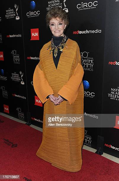 Actress Peggy McCay attends 40th Annual Daytime Entertaimment Emmy Awards Arrivals at The Beverly Hilton Hotel on June 16 2013 in Beverly Hills...