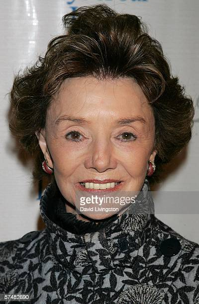 Actress Peggy McCay attends NBC's Days of Our Lives and Passions preEmmy party at French 75 Bistro on April 27 2006 in Burbank California