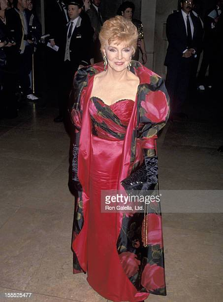 Actress Peggy McCay attends the 10th Annual Soap Opera Digest Awards on February 4 1994 at Beverly Hilton Hotel in Beverly Hills California
