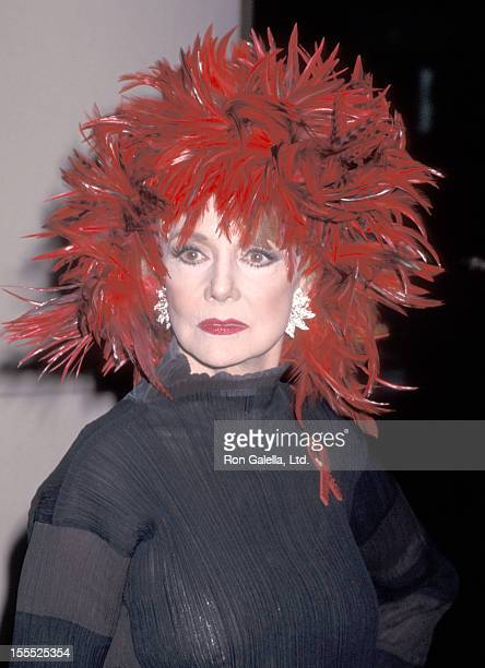 Actress Peggy McCay attends the 12th Annual Soap Opera Digest Awards on February 14 1996 at Beverly Hilton Hotel in Beverly Hills California