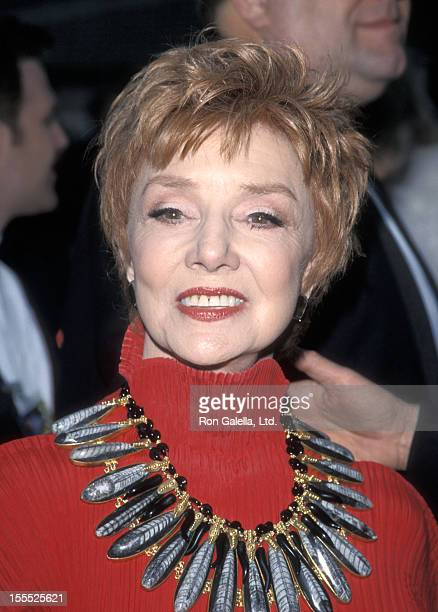 Actress Peggy McCay attends the 15th Annual Soap Opera Digest Awards on February 26 1999 at Universal Amphitheatre in Universal City California
