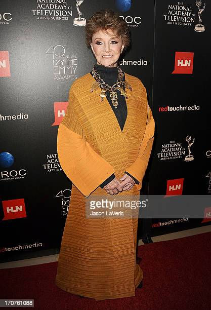 Actress Peggy McCay attends the 40th annual Daytime Emmy Awards at The Beverly Hilton Hotel on June 16 2013 in Beverly Hills California