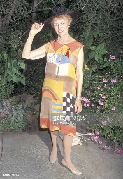 Actress Peggy McCay attends the 49th Annual Primetime Emmy Awards Nominees Cocktail Reception on September 10 1997 at Westwood Marquis Hotel in...