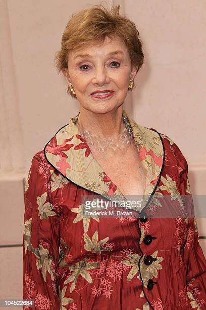 Actress Peggy McCay attends the Academy of Television Arts and Sciences presents' 45 Years of Days of Our Lives celebration at the at Leonard H...