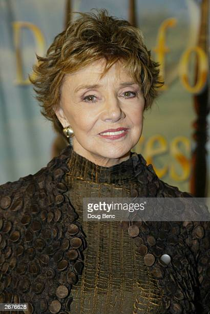 Actress Peggy McCay during the Hollywood premier of Days of Our Lives serial murder mystery episodes at the Arclight's Cinerama Dome in Hollywood...