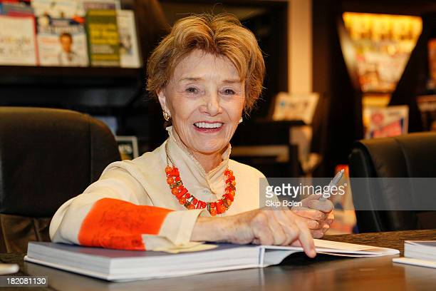 Actress Peggy McCay signs books and greets fans at the 'Days of our Lives Better Living' book tour on September 27 2013 in Birmingham Alabama