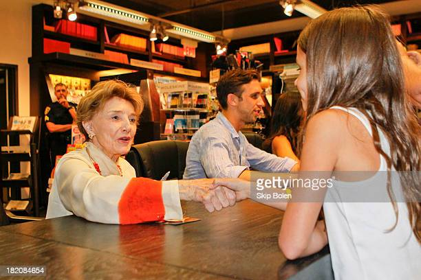 Actress Peggy McCay signs books and greets fans at the Days of our Lives Better Living book tour on September 27 2013 in Birmingham Alabama