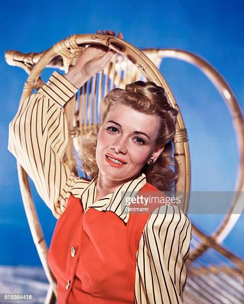 Actress Peggy Singleton UPI color slide