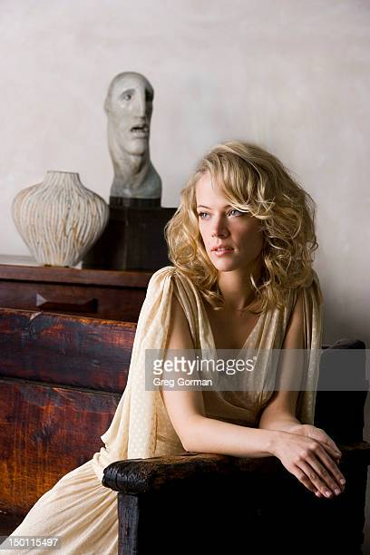 Actress Pell James poses for Independent Magazine on June 1 2006 in Los Angeles California