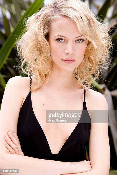 Actress Pell James poses for Venice Magazine on April 3 2006 in Los Angeles California