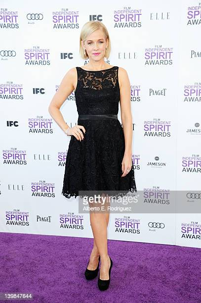Actress Penelope Ann Miller arrives at the 2012 Film Independent Spirit Awards on February 25 2012 in Santa Monica California
