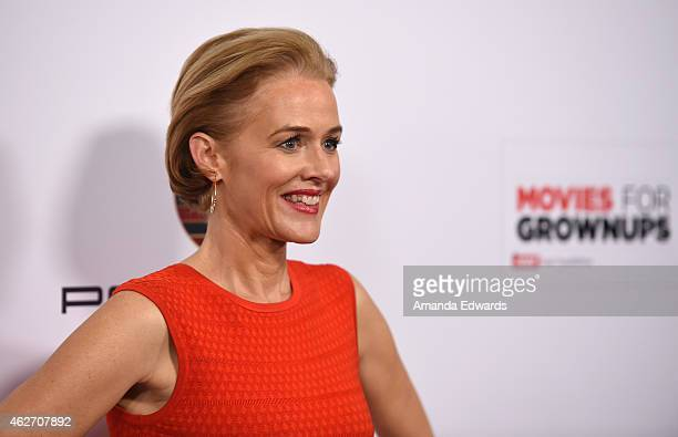 Actress Penelope Ann Miller arrives at the AARP 14th Annual 'Movies For Grownups' Awards Gala at the Beverly Wilshire Four Seasons Hotel on February...